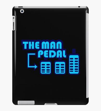 The Man Pedal (7) iPad Case/Skin