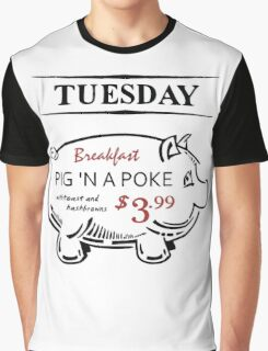 Pig 'n a Poke Graphic T-Shirt