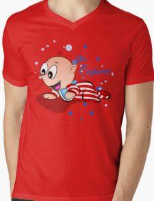 Baby Ollie Little Explorer Mens V-Neck T-Shirt