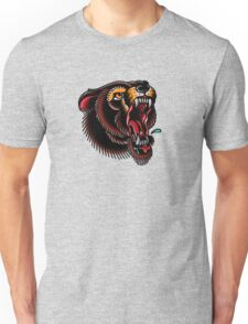 Traditional Mighty Bear Unisex T-Shirt