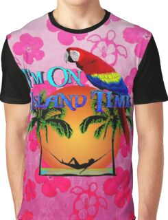 Island Time Pink Honu Graphic T-Shirt