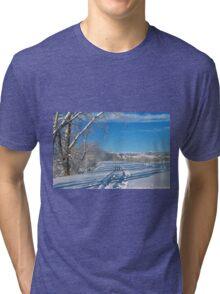 Fresh Tracks Tri-blend T-Shirt
