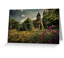 Church of St Laurence Tidmarsh Greeting Card