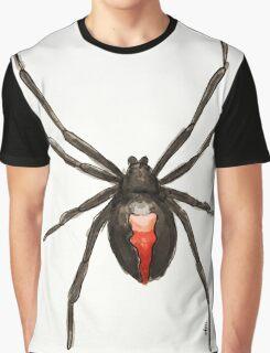 Latrodectus mactans (southern black widow) Graphic T-Shirt