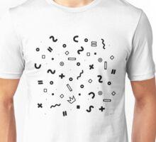 Random geometrical math Unisex T-Shirt