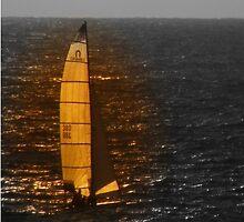 Lonely Boat by kimyudelowitz