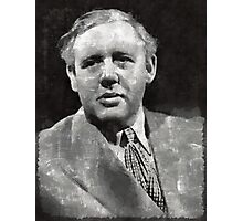 Charles Laughton Vintage Actor Photographic Print