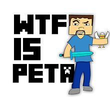 """""""WTF is PETA"""" Minecraft  by totalighter"""
