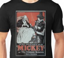 Performing Arts Posters Mickey or The crimson nemesis by Robt J Sherman the most popular play of the age 0593 Unisex T-Shirt