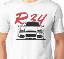 Skyline R34 GTR Unisex T-Shirt