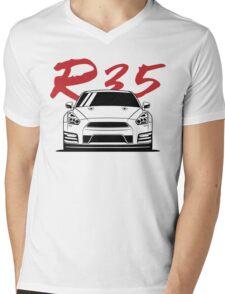 GTR (R35) Mens V-Neck T-Shirt