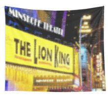 "Pixels Print ""THE LION KING"" Wall Tapestry"