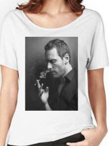 Michael Fassbender Women's Relaxed Fit T-Shirt