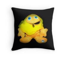 Zippy is glad to choose his own clothes every day Throw Pillow