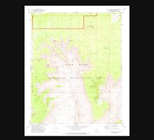 USGS TOPO Map Arizona AZ Mt Dellenbaugh 312515 1971 24000 Unisex T-Shirt