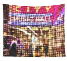 "Pixels Print ""MUSIC HALL"" Wall Tapestry"