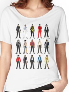 Outfits of King Jackson Pop Music Fashion Women's Relaxed Fit T-Shirt
