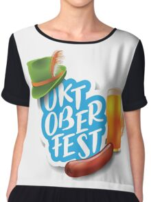Oktoberfest design Chiffon Top