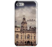 London Eye and Horseguards Parade iPhone Case/Skin