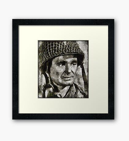 Stuart Whitman Hollywood Actor Framed Print