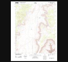 USGS TOPO Map Arizona AZ Mount Trumbull SE 20111129 TM Unisex T-Shirt