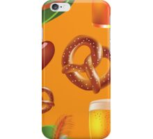 Oktoberfest repeating pattern iPhone Case/Skin