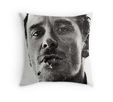 Michael Fassbender Throw Pillow