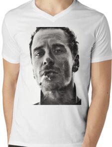Michael Fassbender Mens V-Neck T-Shirt