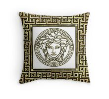Versace Greek Throw Pillow