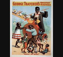 Performing Arts Posters George Thatchers Greatest Minstrels 1740 Unisex T-Shirt