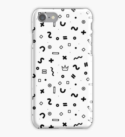 Random geometrical math iPhone Case/Skin