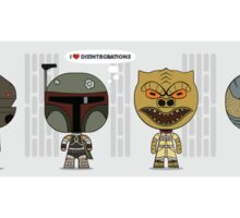 Empire Strikes Back Bounty Hunters Sticker