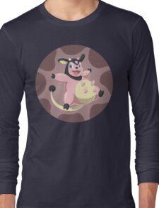 Miltank badge Long Sleeve T-Shirt