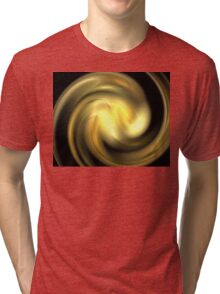 Honey Gold Swirl Tri-blend T-Shirt