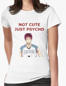 psycho, baby Womens Fitted T-Shirt