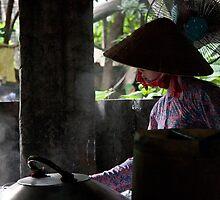 The rice paper maker by Elena Martinello