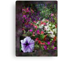 Flower Fun Canvas Print