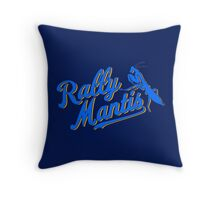 Rally Mantis  Throw Pillow