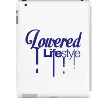 Lowered Lifestyle (2) iPad Case/Skin