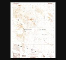 USGS TOPO Map Arizona AZ Lukeville 312180 1988 24000 Unisex T-Shirt