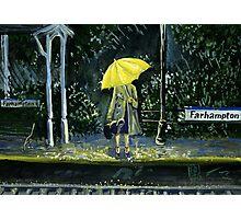 Yellow umbrella part 2 Photographic Print