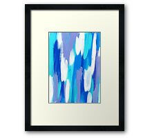 LISTEN TO THE SEA Framed Print