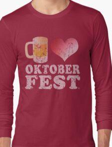 Beer Love Oktoberfest Long Sleeve T-Shirt