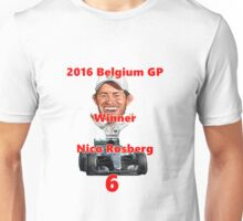 2016 Belgian GP Winner Unisex T-Shirt