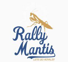 rally go mantis Kids Tee
