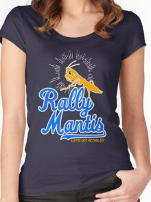 rally go mantis Women's Fitted Scoop T-Shirt