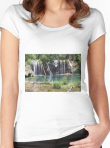 Hanging Lake Women's Fitted Scoop T-Shirt