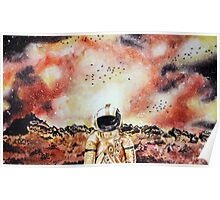 Brand New Watercolour Space Design Poster