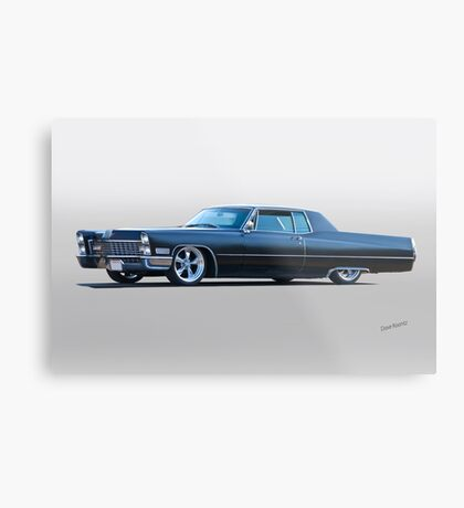 1967 Cadillac Custom Coupe DeVille I Metal Print