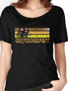 German Oktoberfest Retro Women's Relaxed Fit T-Shirt
